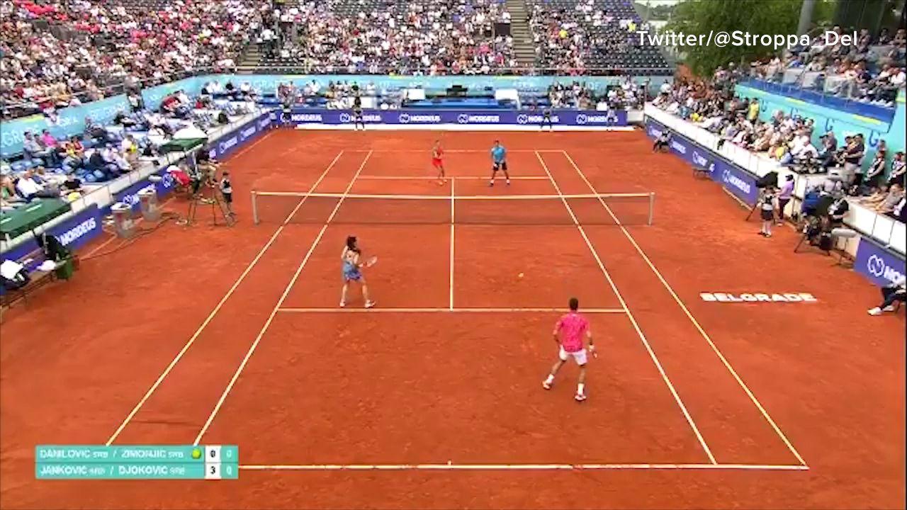 Djokovic, Thiem and Zverev win opening Adria Tour singles