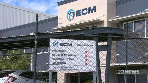 Hundreds of tradies don't know if they will see their final pays after ECM went into voluntary administration.