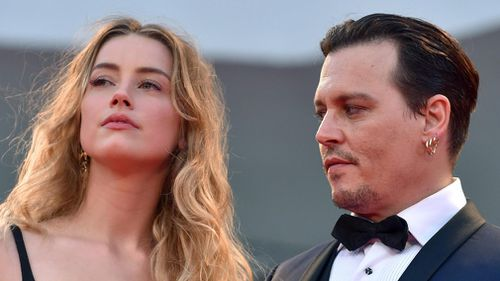 Amber Heard and Depp divorced in January last year. (AAP)