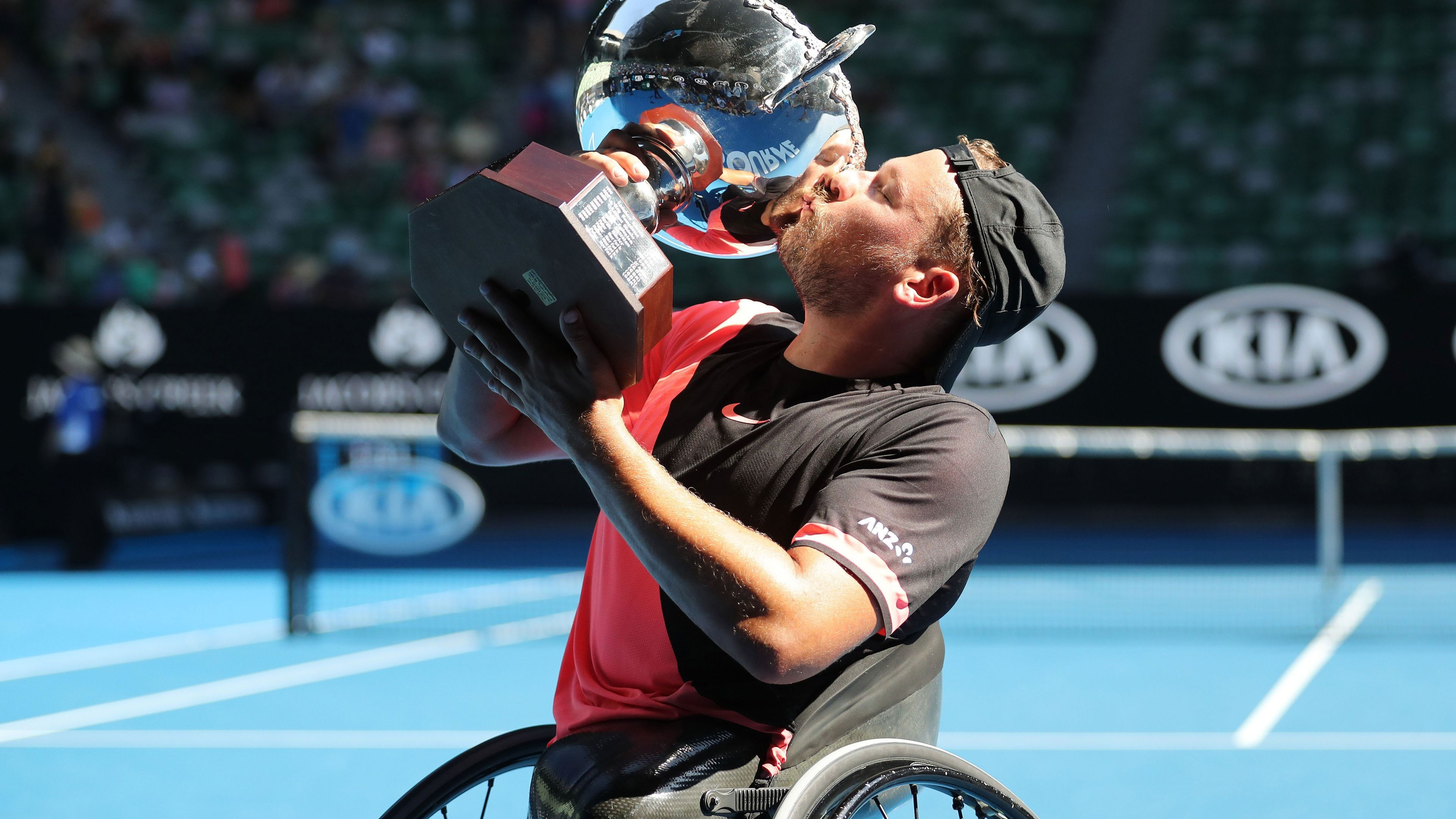 Dylan Alcott recalls incredible Australian Open win with cellulitis infection