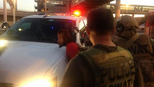 Shooting suspect captured after pursuit through Phoenix airport