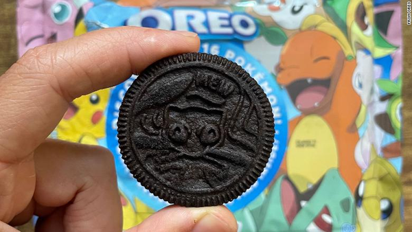 Oreo: The coveted Mew cookie is being listed for thousands of dollars on eBay.
