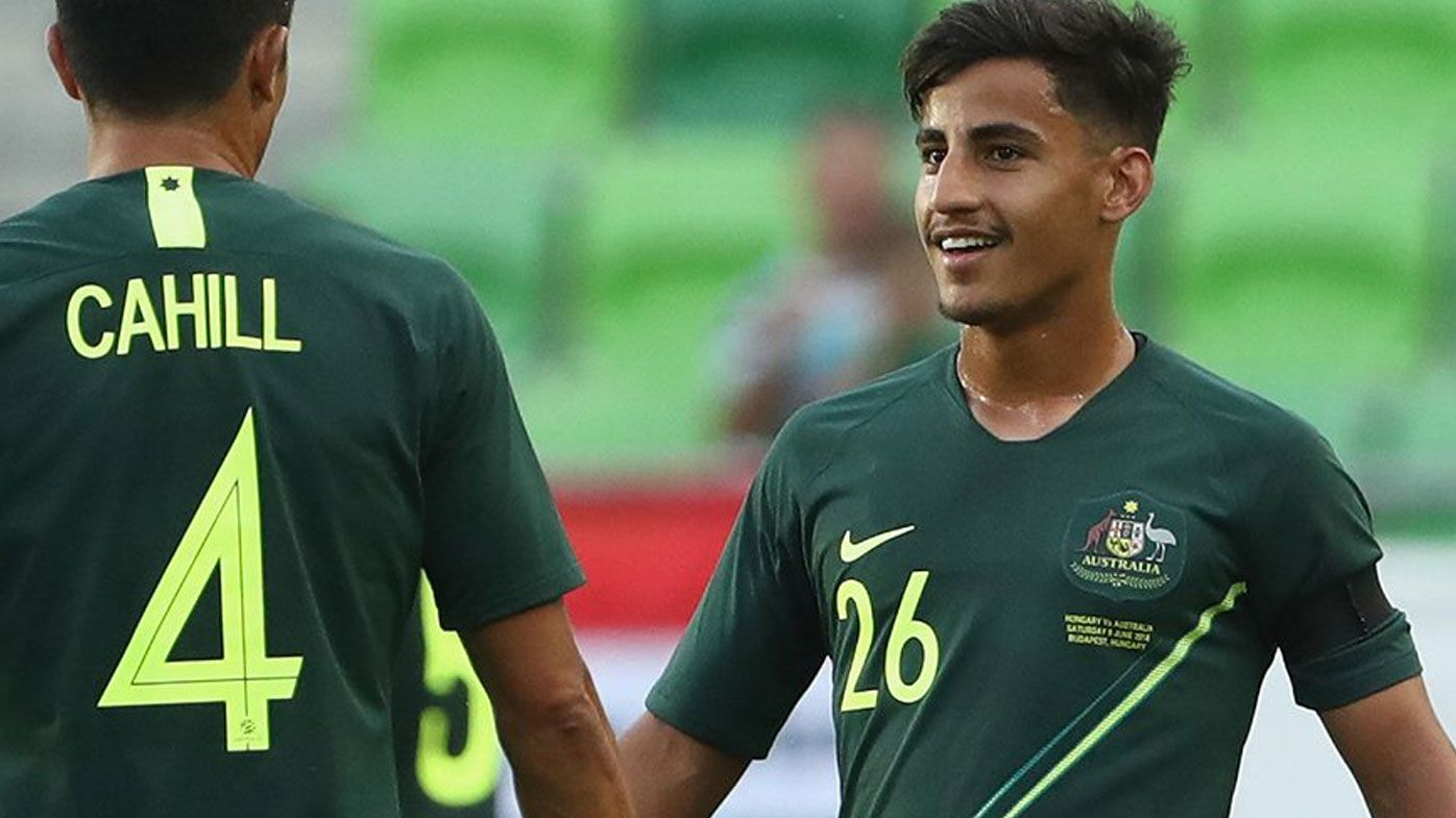 Socceroos score scrappy win over Hungary in final warm-up match before World Cup