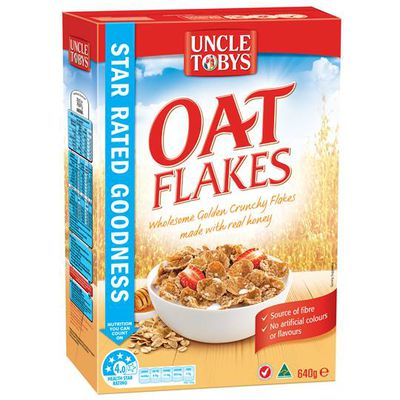 <strong>Oat Flakes (6.9 grams of fibre per 100 grams)</strong>