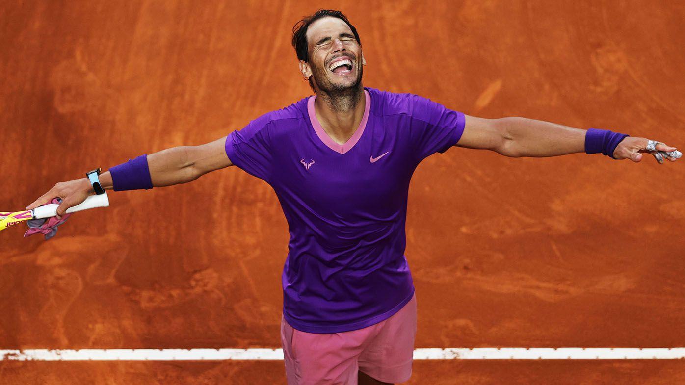 Rafael Nadal beats Novak Djokovic in Italian Open final for his 10th Rome title