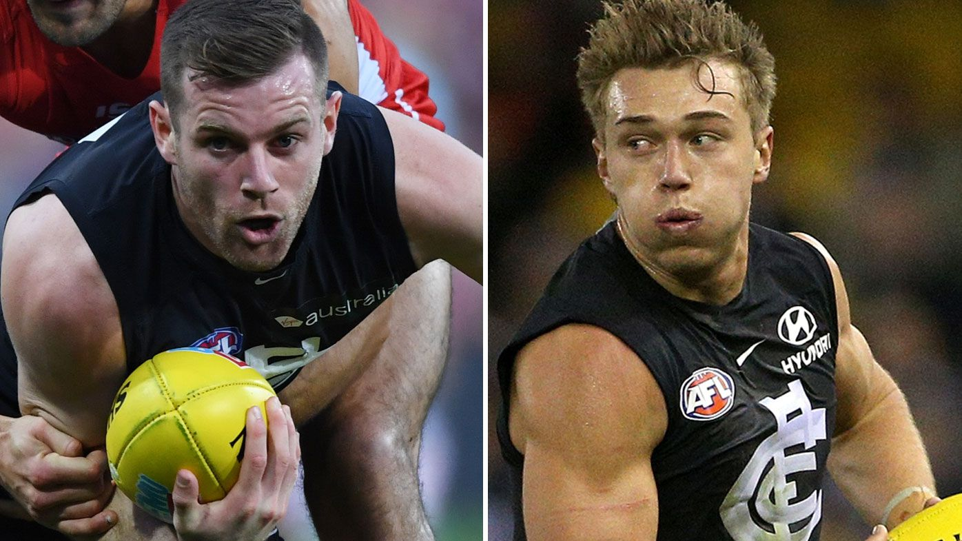Carlton announces Patrick Cripps and Sam Docherty as co-captains for 2019 season