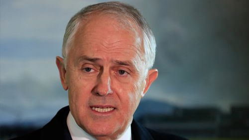 Prime Minister Malcolm Turnbull at the COAG meeting. (AAP)