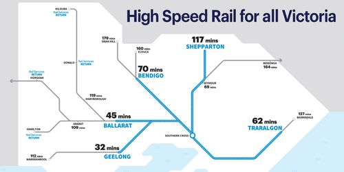 The Opposition is promising a $19 billion rebuild of the state's regional rail network.