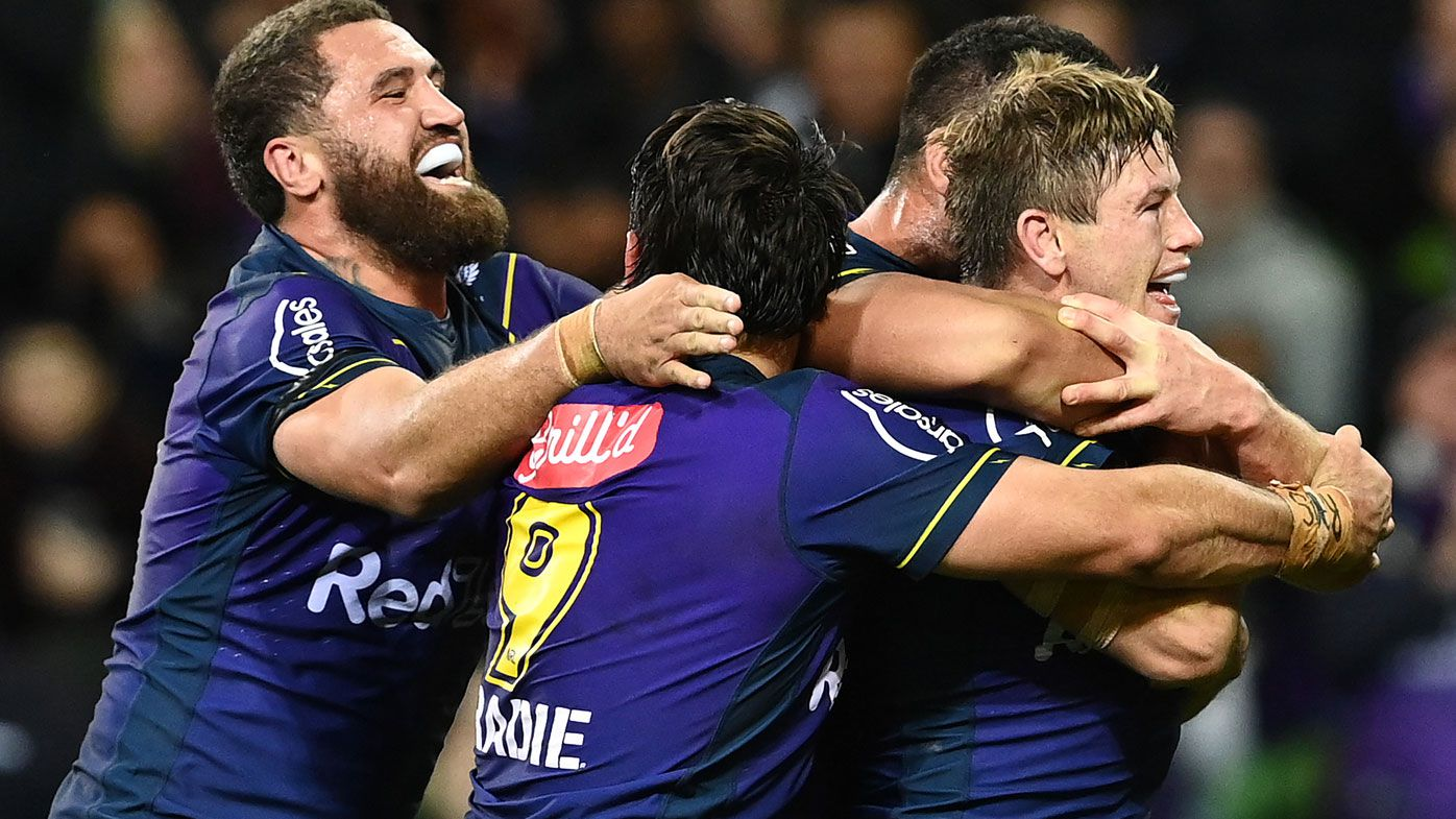 Harry Grant inspires the Storm. (Getty)