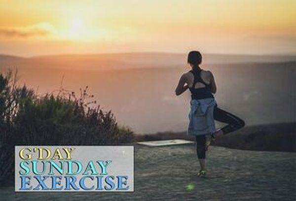 G'Day Sunday: Exercise