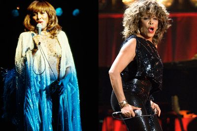 Demure to diva: Tina Turner can still pull the moves