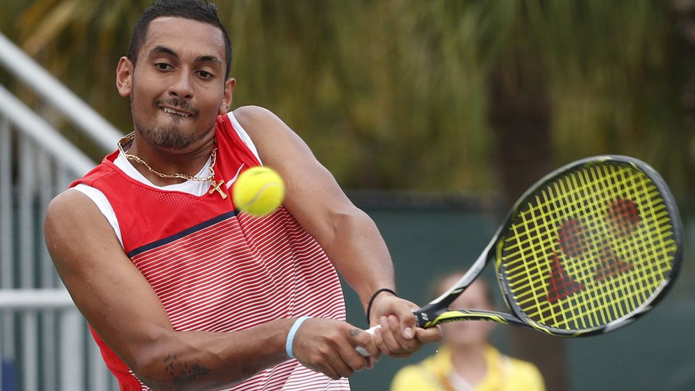 Kyrgios into first Masters quarter-final