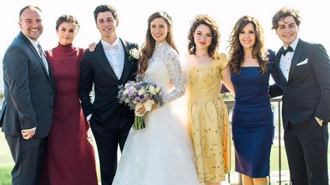 Wizards of Waverly Place cast reunion at David Henrie's wedding