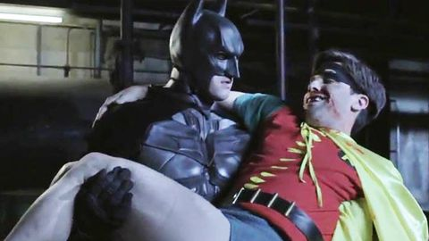 Watch: <i>The Dark Knight Rises</i> meets '60s Robin