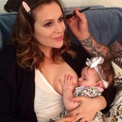 The 43-year-old actress has shared many photos of herself nursing on social media. The mother of two has often said she is shocked by how opinionated people are about 'something that is supposed to be so incredibly natural'. <br> <br>