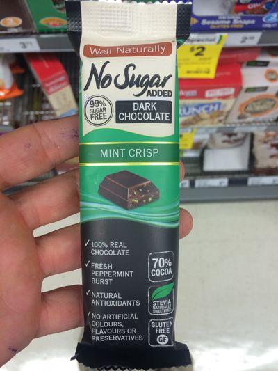 <strong>Well Naturally No Sugar Added Mint Crisp Bar</strong>