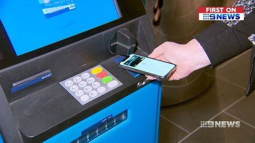 The digital wallet allows cash to be withdrawn at ATMs using just a smartphone.