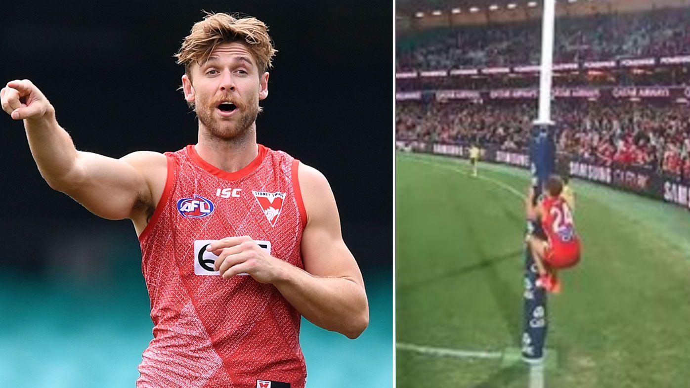 AFLPA, Sydney Swans weigh options on Dane Rampe umpire sledge fine