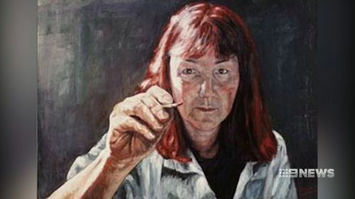 The accused is an Archibald Prize finalist.