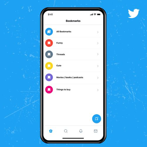 Bookmark Folders, one of the new features on the Twitter Blue subscription, allows users to organise saved tweets.