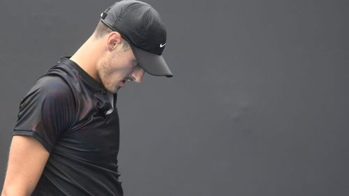 Tennis Australia denied Tomic a wild card entry at this year's event, making it the first time he has not competed since 2008. (AAP)
