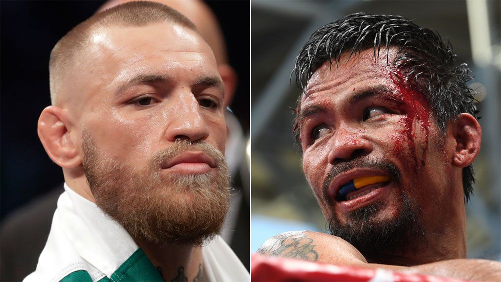 UFC star Conor McGregor reportedly in talks to fight Manny Pacquiao