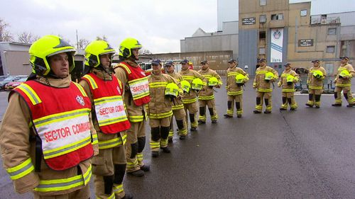 A range of recruits including an ex origin star, a gymnast and a soldier completed their firefighter training.