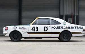 Peter Brock's first Bathurst drive is up for auction