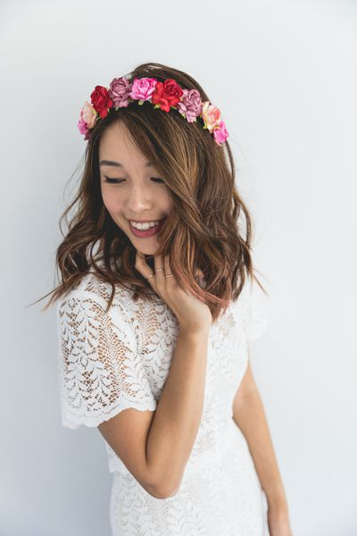 """<a href=""""https://www.etsy.com/au/listing/478759470/bright-and-colourful-flower-crown-bright?ga_order=most_relevant&amp;ga_search_type=all&amp;ga_view_type=gallery&amp;ga_search_query=flower%20crowns&amp;ref=sr_gallery_3"""" target=""""_blank"""">Kis For Kani Flower Crown, $35.</a>"""