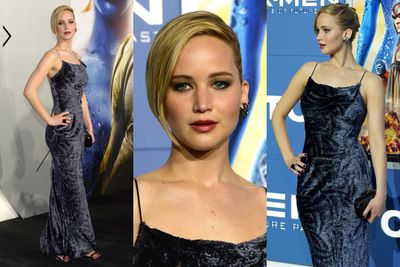 """Jennifer Lawrence, Hugh Jackman, Nicholas Hoult, Emma Roberts and more celebs rocked up to the world premiere of <i>X-Men: Days of Future Past</i> in New York. And TheFIX is loving J-Law's '90s style velvet gown. What a stunner!<br/><br/>Keep flicking through to check out all the snaps from the red carpet event...<br/><br/>(<i>Author: <b><a target=""""_blank"""" href=""""https://twitter.com/yazberries"""">Yasmin Vought</a></b></i>. Images: Getty)"""