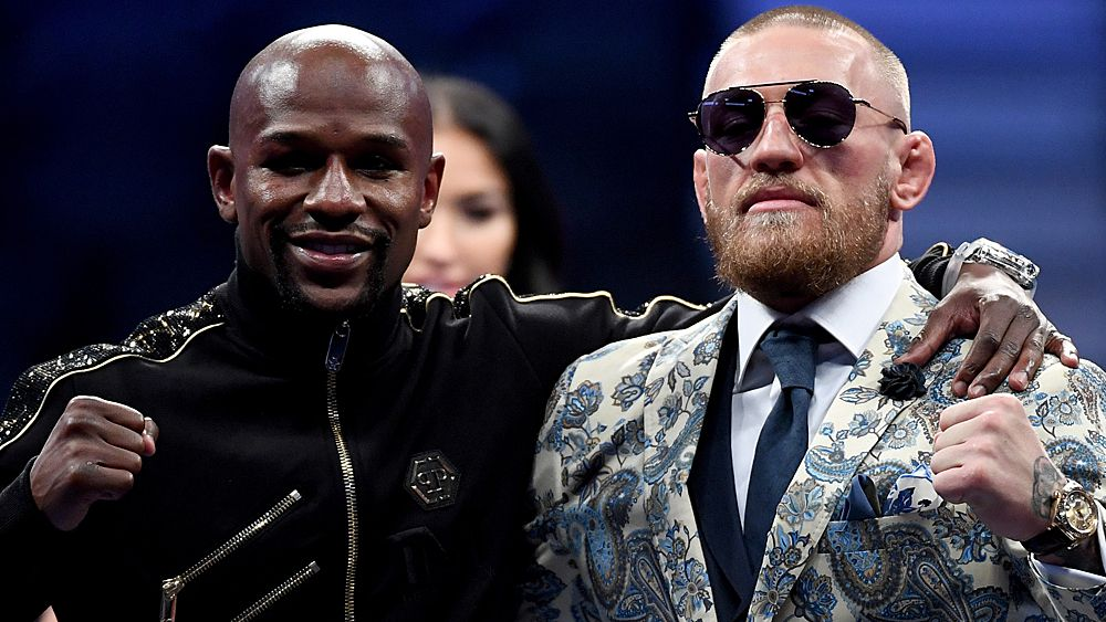 How much money did Floyd Mayweather and Conor McGregor make from one-off boxing match?