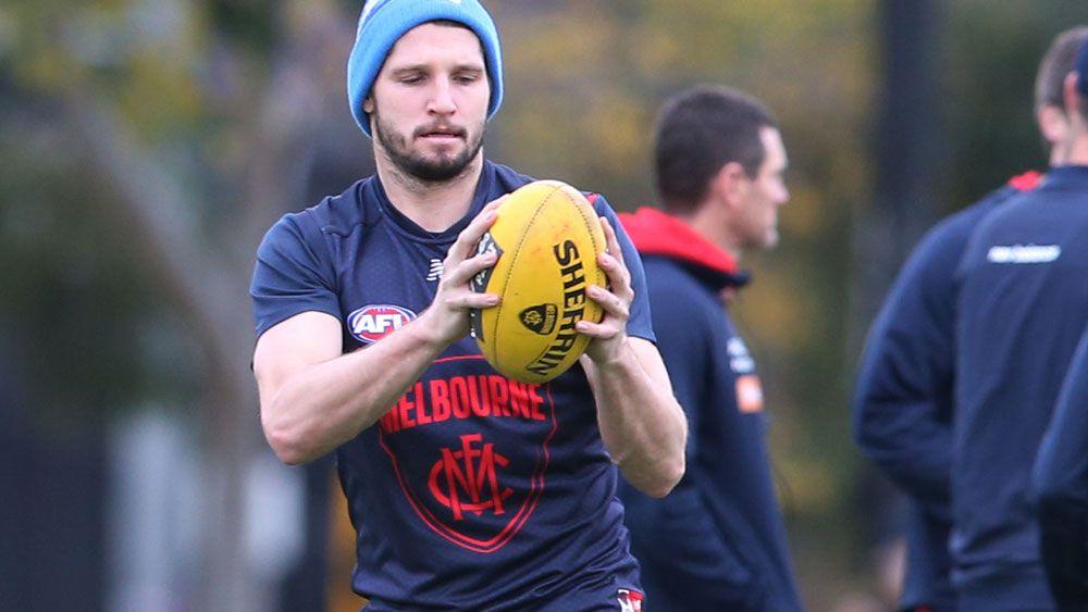 AFL: Jesse Hogan set to return for Melbourne Demons after cancer scare