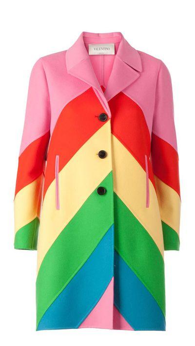 "<a href=""http://www.farfetch.com/au/shopping/women/valentino-1973-chevron-stripe-coat-item-10892964.aspx?storeid=9089&amp;ffref=lp_15_"">1973Chevron Stripe Coat, $8136.24, Valentino</a>"