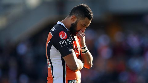 Benji Marshall shows emotion