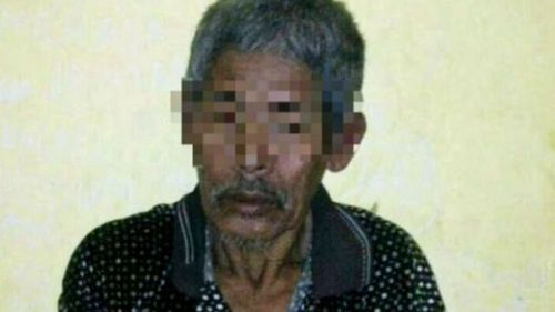 A village shaman, 83, has been arrested and accused of brainwashing the woman, now 28.