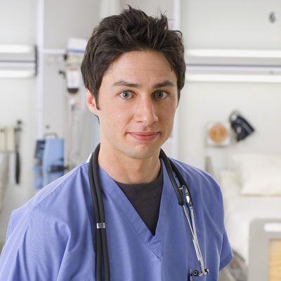Zach Braff as Dr. John 'J.D.' Dorian: Then