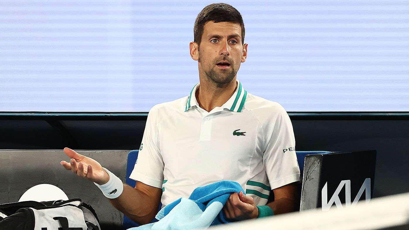 'It's not their place': Novak Djokovic fumes at Australian Open photographers