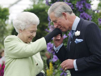 Prince Charles with the Queen, 2009