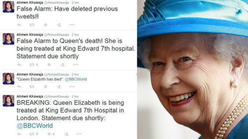 BBC reporter faces action over Queen Elizabeth death tweet