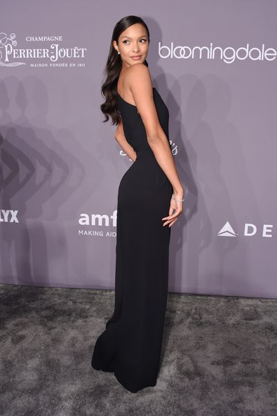 Lais Ribeiro in Dsquared2 at the 20th Annual amfAR Gala