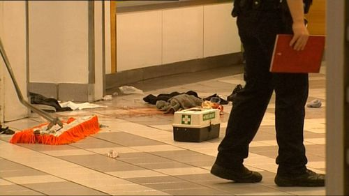 Rovie had just finished cleaning the toilets at the shopping centre when she was set upon. Picture: 9NEWS