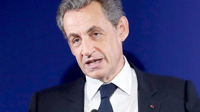 Former French president Sarkozy in police custody