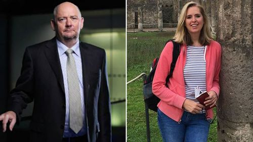 Richard Cousins and his fiancee Emma Bowden. (Facebook)