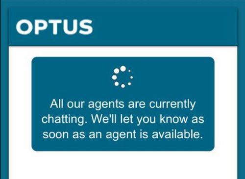 Optus mobile network customers in Sydney, Melbourne, Tasmania have been left unable to make or receive calls due to a mass outage. Picture: Twitter.