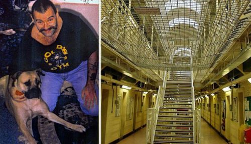 Notorious UK inmate Charles Bronson whistled 'The Great Escape' theme before allegedly assaulting prison governor