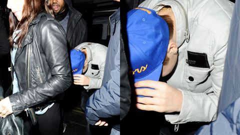 Justin Bieber flips out after being caught with another girl