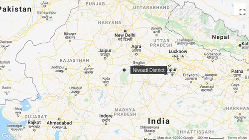 Rescue efforts are underway after the boy fell into a well in India's central Madhya Pradesh state.