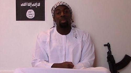 Gunman Amedy Coulibaly has appeared in a video released posthumously online claiming to be a member of the Islamic State. (Supplied)
