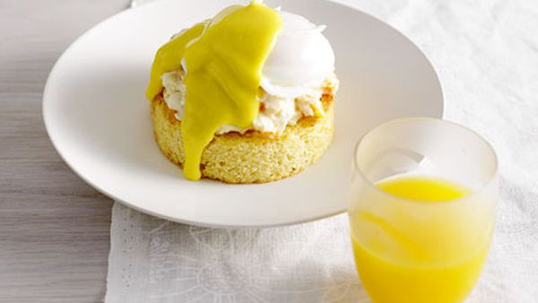 Oeufs Benedictine with smoked cod brandade