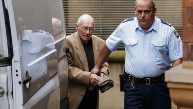 Roger Rogerson at the Supreme Court of Australia.